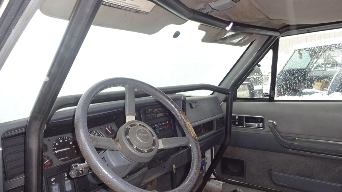 Jeep Cherokee Xj Roll Cage Kit 4 Door D And C Extreme 1996 Country Wiring For Lights