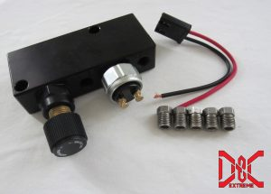 adjustable proportioning valve distribution block