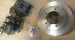 scout ii rear disc brake kit