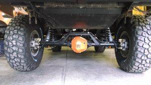 rear 4 link system