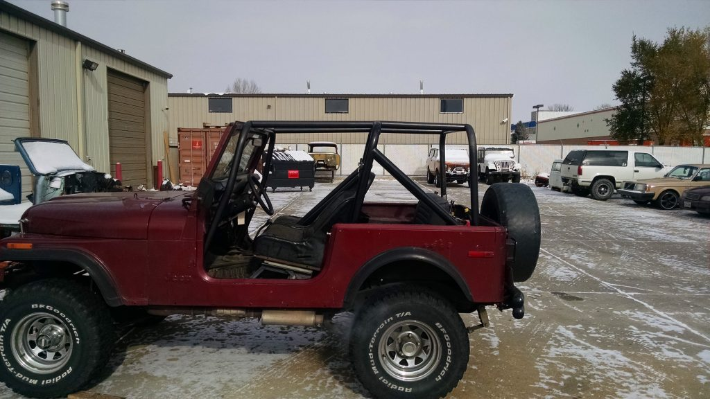1976-86 Jeep CJ 7 Front Cage Kit