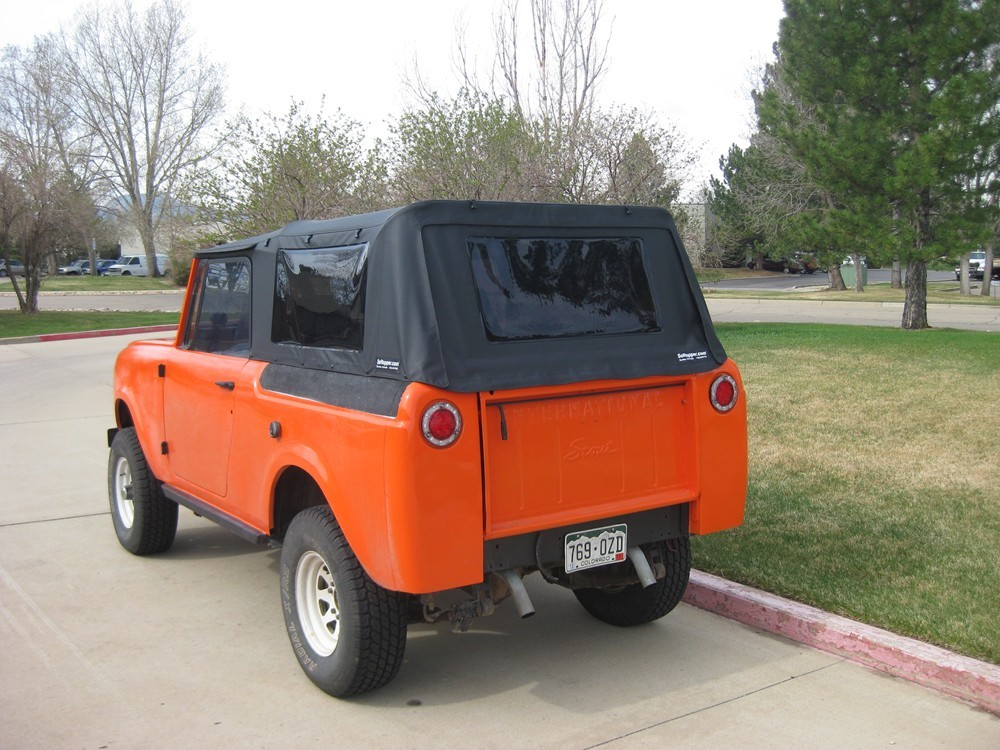 Jeep Xj Soft Top >> International Scout 80/800 Soft Top | D and C Extreme