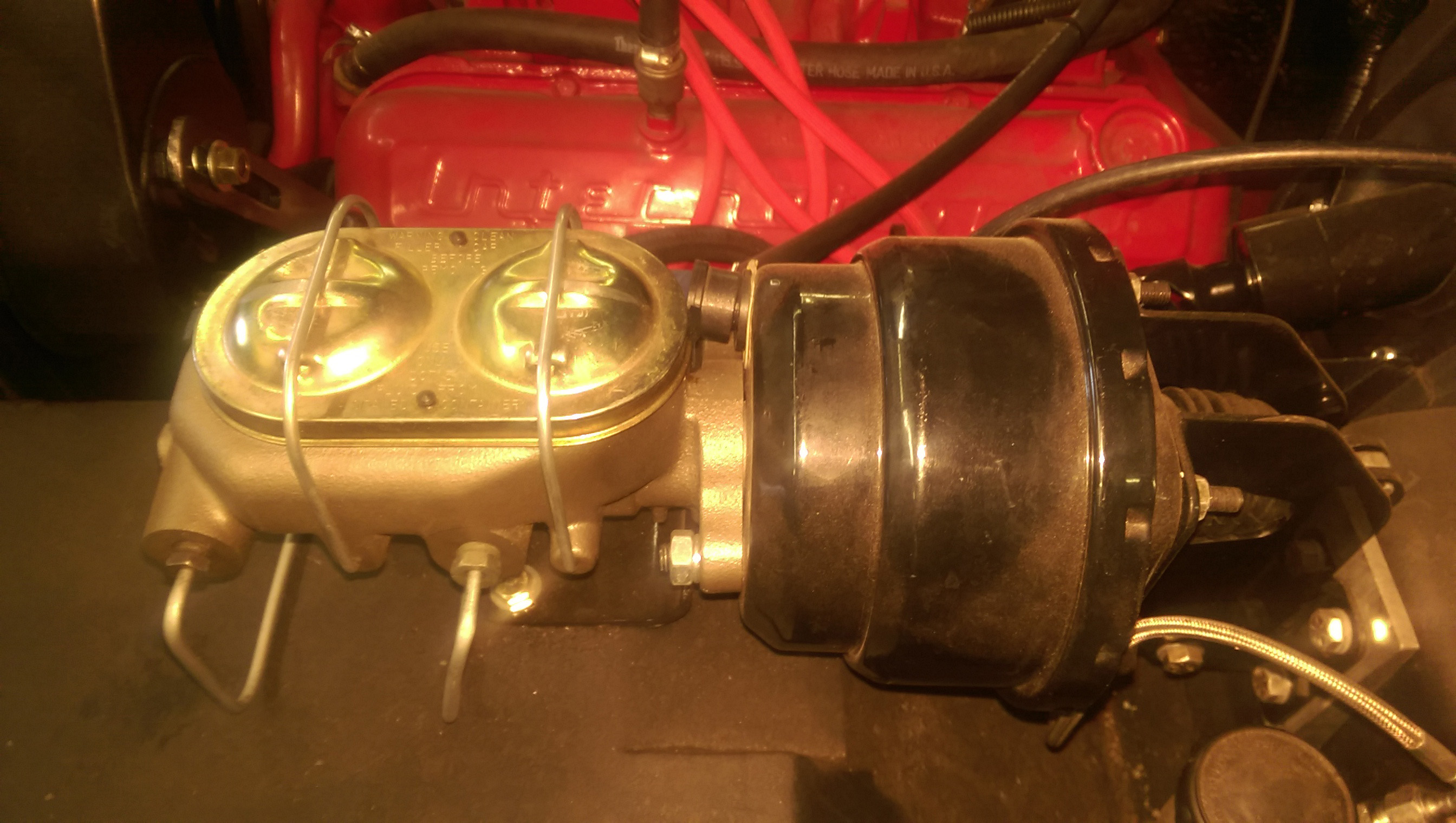 Scout 80/800 Power Brake Booster Conversion Kit