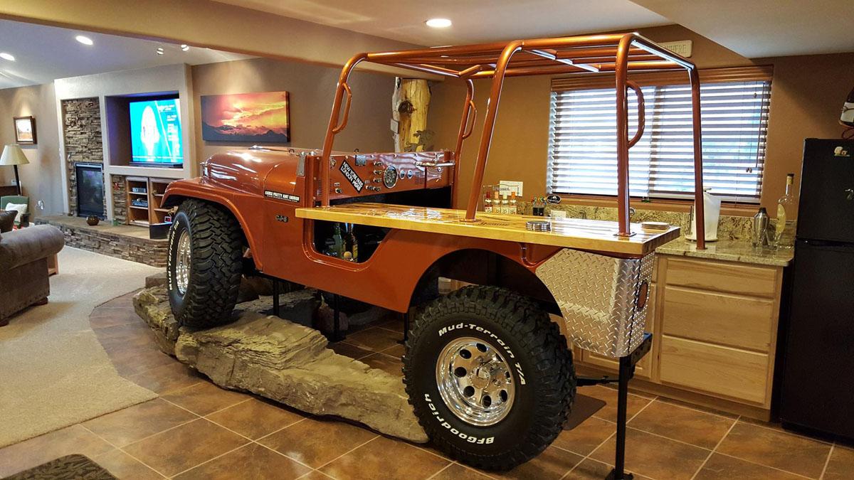 Jeep Man Cave Bar : Parts shop colorado springs co