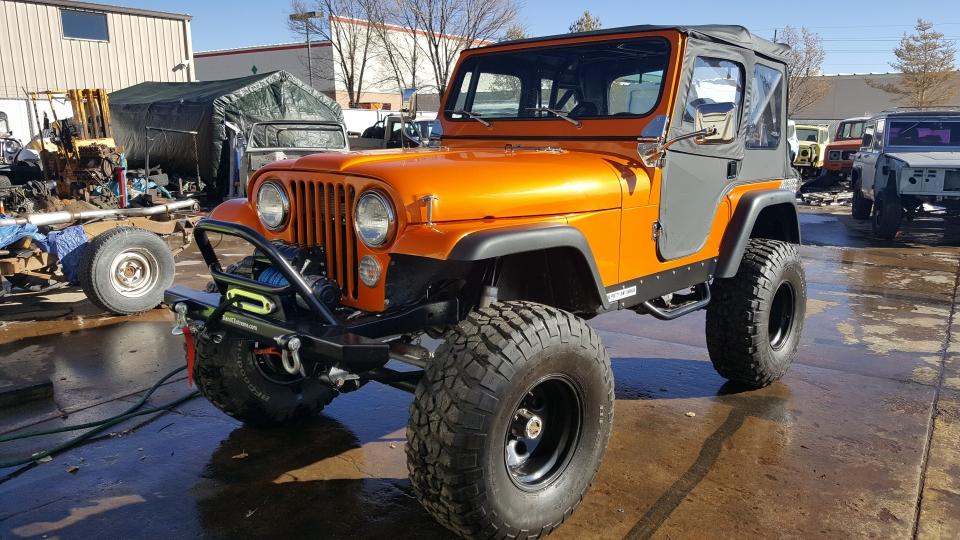 Kryptonite Jeep
