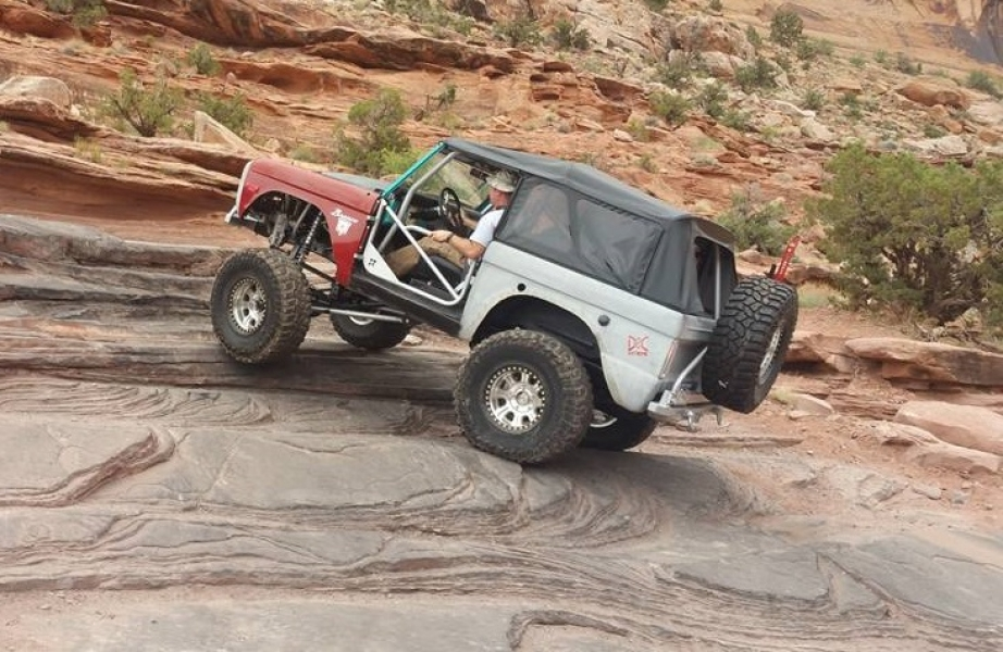 Bronceau in Moab