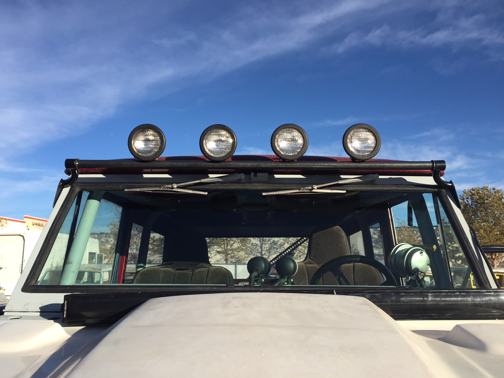 Bronco Light Bar Bracket 1966 1977 D And C Extreme