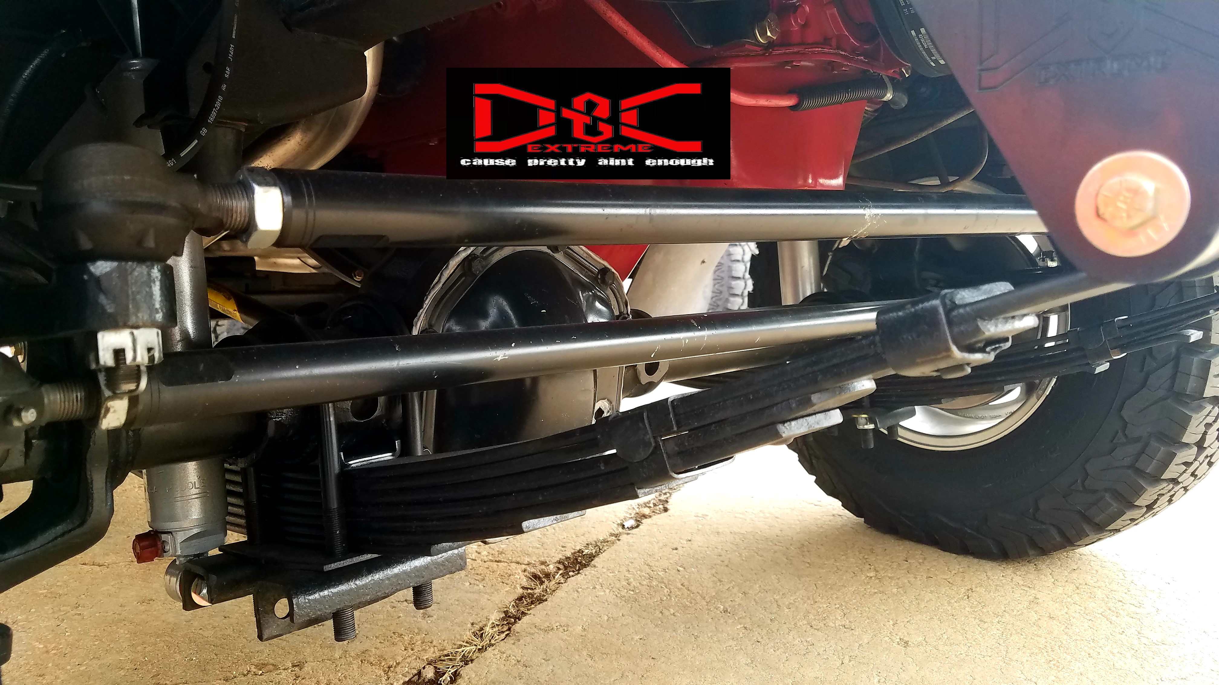 X-Duty Scout II Tie Rod and Drag Link Set